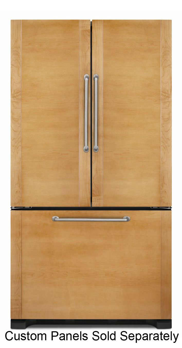 Jenn Air 72 Panel Ready Counter Depth French Door Refrigerator Jfc2290rtb