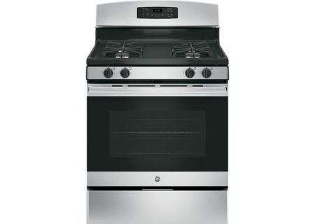 GE Stainless Freestanding Gas Range JGBREKSS - Abt gas ranges