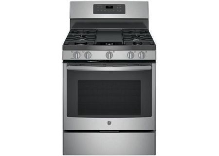 "GE 30"" Free Standing Stainless Steel Gas Convection Range - JGB700SEJSS"