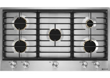 "Jenn-Air 36"" Stainless Steel Gas Cooktop - JGC3536GS"