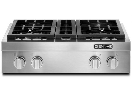 "Jenn-Air 30"" Pro-Style Stainless Steel Gas Cooktop - JGCP430ADP"