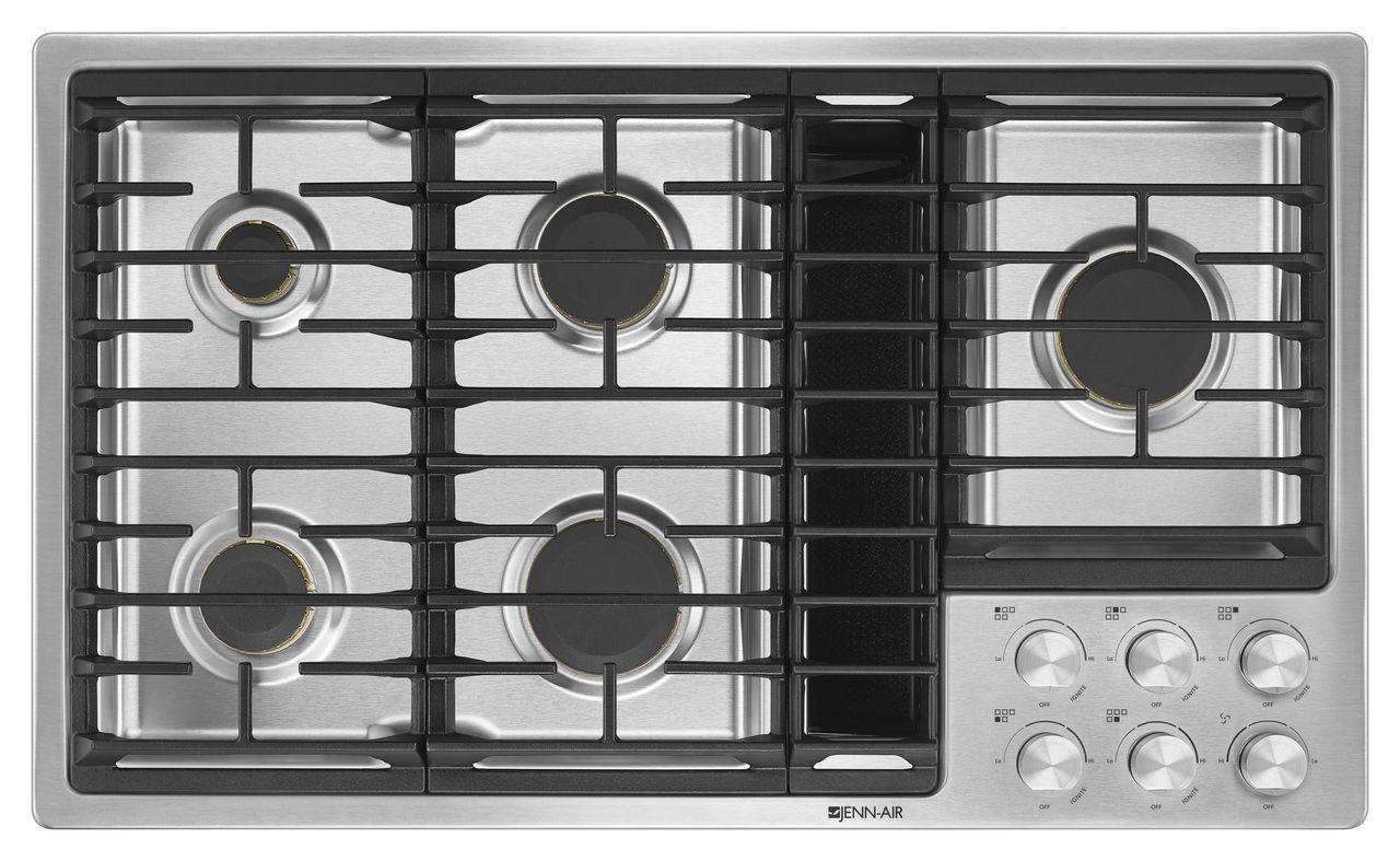 Jennair Stainless Steel Gas Downdraft Cooktop Jgd3536gs