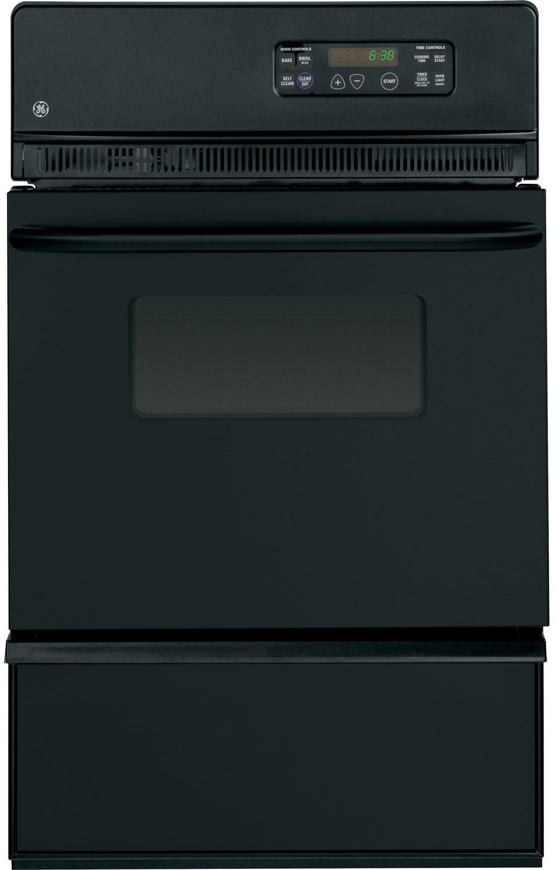 Ge 24 Quot Black Gas Single Wall Oven Jgrp20bejb