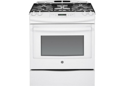 GE - JGS650DEFWW - Slide-In Gas Ranges
