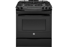 GE - JGS750DEFBB - Slide-In Gas Ranges