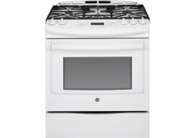 GE - JGS750DEFWW - Slide-In Gas Ranges