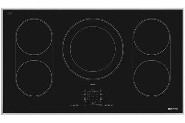 "Large image of JennAir 36"" Electric Induction Cooktop - JIC4536XS"