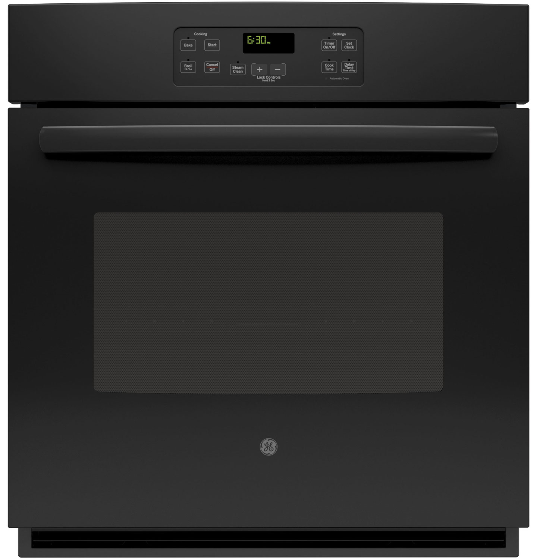 ge black builtin single electric wall oven jk1000dfbb