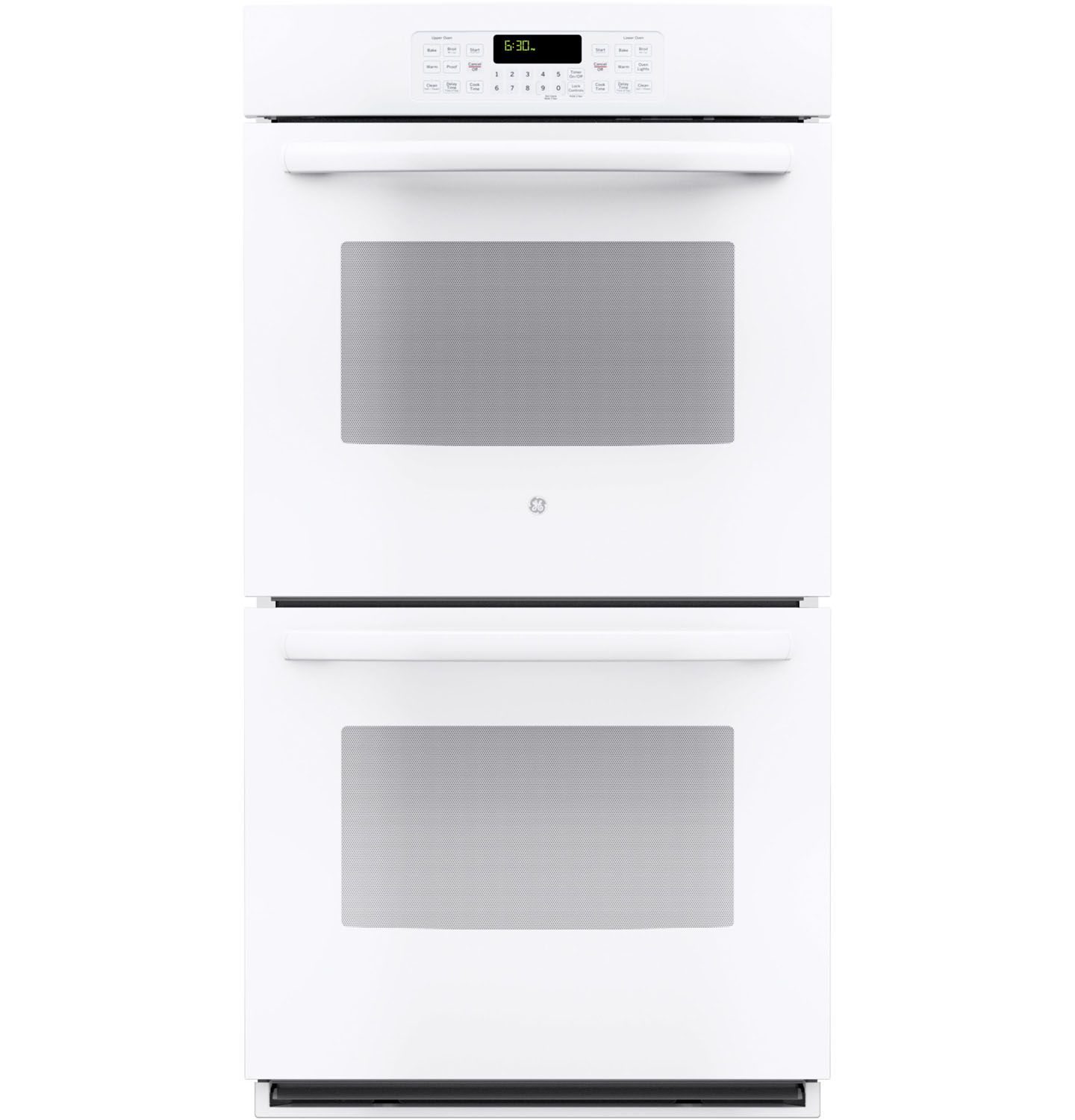 Top Rated Built In Ovens ~ Ge quot white built in double wall oven jk dfww