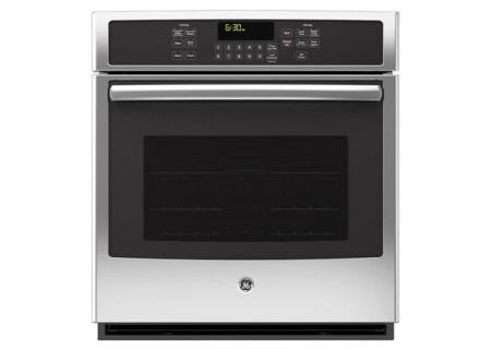 "GE 27"" Built-In Stainless Steel Single Convection Wall Oven - JK5000SFSS"