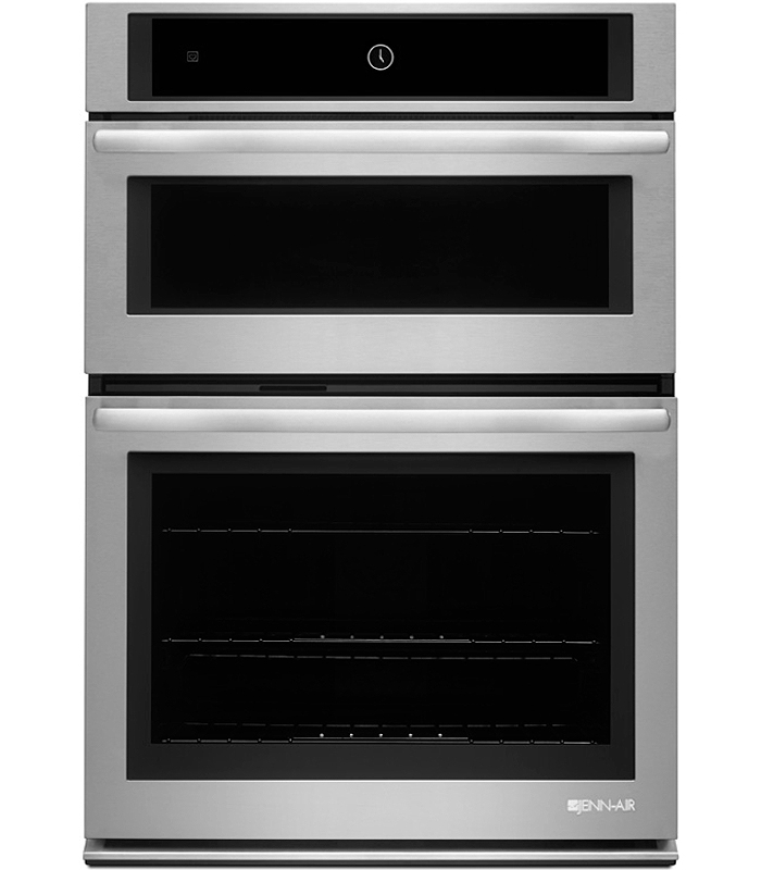 """30 Combination Microwave Wall Oven: Jenn-Air 30"""" Stainless Combination Wall Oven"""