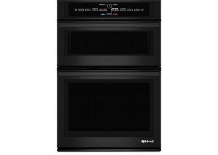 "Jenn-Air 30"" Black Combination Microwave Electric Wall Oven - JMW3430DB"