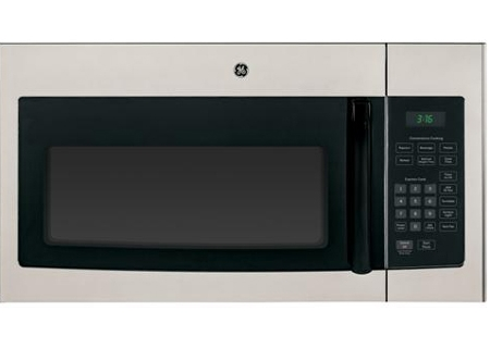 GE Metallic Silver Over-The-Range Microwave Oven - JNM3161MFSA