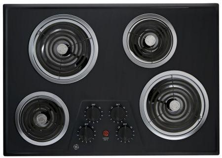 GE - JP328BKBB - Electric Cooktops