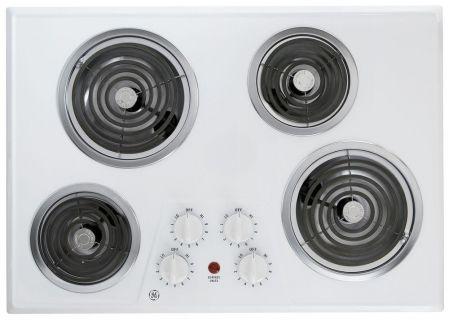 GE - JP328WKWW - Electric Cooktops