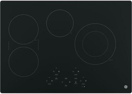 "GE 30"" Black Electric Cooktop - JP5030DJBB"