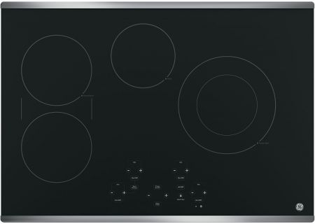 "GE 30"" Stainless Steel Electric Cooktop - JP5030SJSS"
