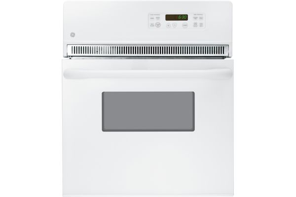 """Large image of GE 24"""" White Electric Single Wall Oven - JRP20WJWW"""