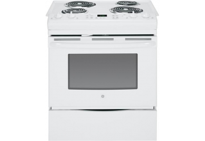 GE - JS250DFWW - Slide-In Electric Ranges