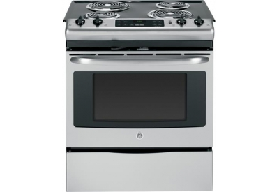 GE - JS250RFSS - Slide-In Electric Ranges