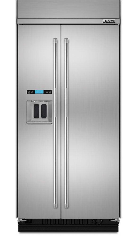 Jenn Air Built In Side By Side Refrigerator Js48ppdude