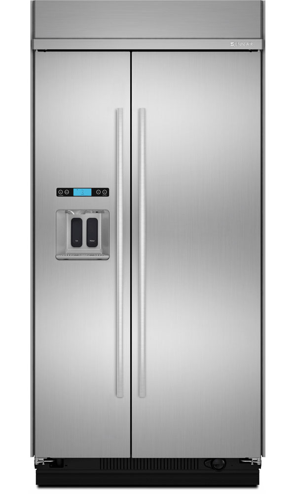 Jenn Air Built In Side By Side Refrigerator Js48ssdude