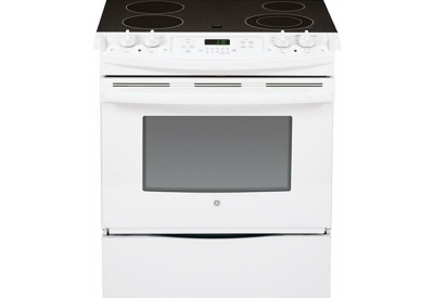GE - JS630DFWW - Slide-In Electric Ranges