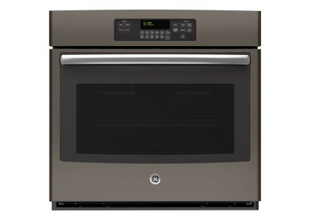 """GE 30"""" Slate Built-In Single Wall Oven - JT3000EJES"""