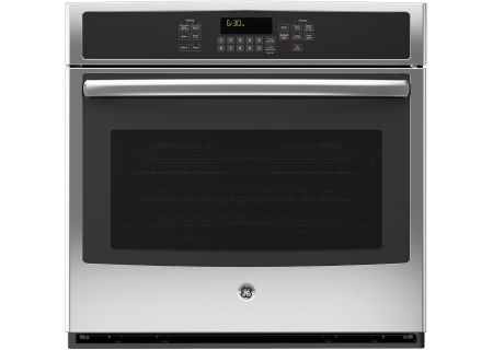"""GE 30"""" Stainless Steel Built-In Single Convection Wall Oven - JT5000SFSS"""