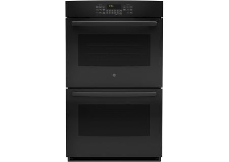 "GE 30"" Black Built-In Double Wall Oven - JT5500DFBB"
