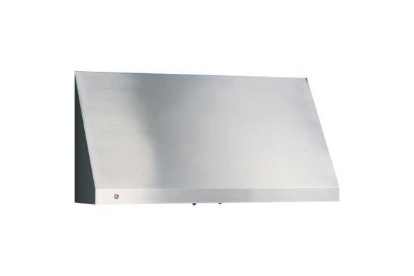 "GE Profile 36"" Designer Stainless Steel Wall Hood - JV966DS"