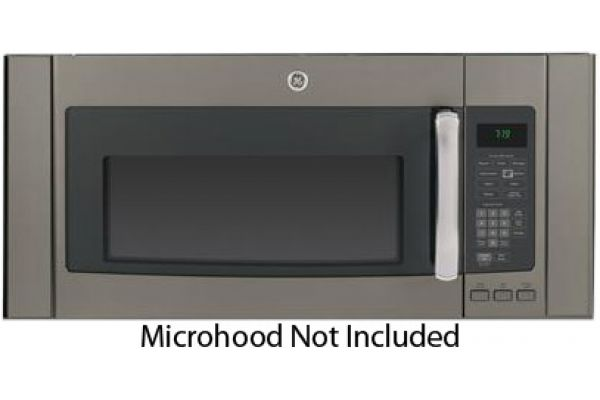 "Large image of GE Slate 36"" Over-The-Range Microwave Accessory Filler Kit - JX36BES"