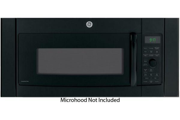 "Large image of GE Black 36"" Over-The-Range Microwave Accessory Filler Kit - JX36CBB"
