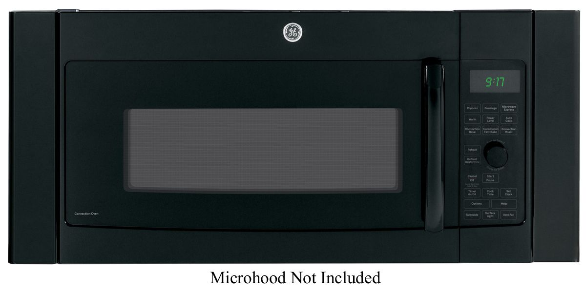 Ge 36 over the range microwave oven trim kit jx36dbb for Microwave ovens built in with trim kit