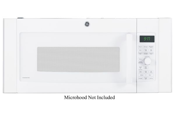 """Large image of GE White 36"""" Over-The-Range Microwave Accessory Filler Kit - JX36DWW"""