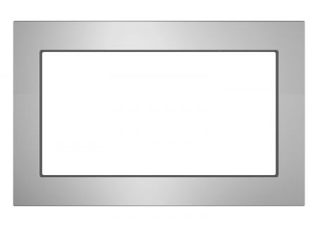 """GE Stainless Steel 30"""" Built-In Microwave Oven Trim Kit - JX7230SLSS"""