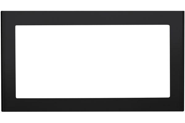 """Large image of GE Black Slate Optional 27"""" Built-In Trim Kit - JX827FMDS"""