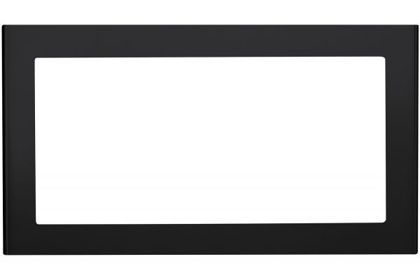 """Large image of GE Black Slate Optional 30"""" Built-In Trim Kit - JX830FMDS"""