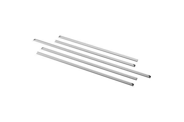 Large image of GE Slide-In Range Stainless Steel Filler Kit - JXFILLR1SS