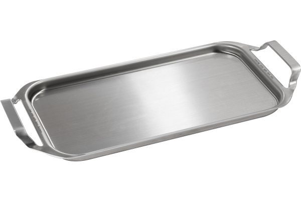 Large image of GE Stainless Steel Clad Aluminum Griddle - JXGRIDL1