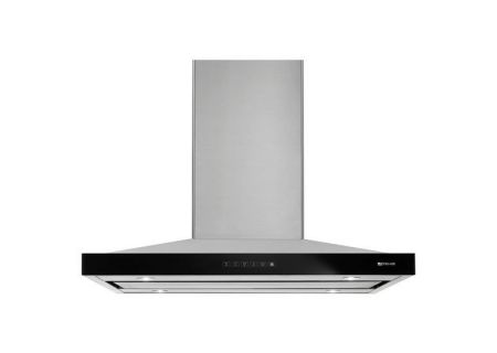 "Jenn-Air 36"" Stainless Steel Euro-Style Island Mount Canopy Hood  - JXI8536DS"