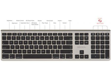 Kanex MultiSync Aluminum Mac Keyboard - K1661013