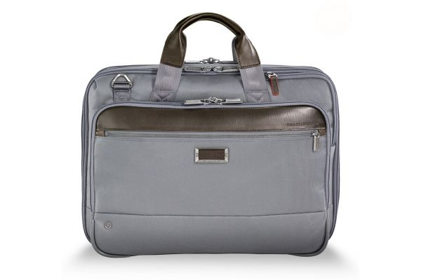 Briggs & Riley Grey @Work Medium Expandable Brief - KB425X-10