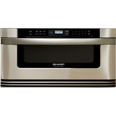 Sharp 24 Quot Stainless Steel Microwave Drawer Kb 6001ns Abt