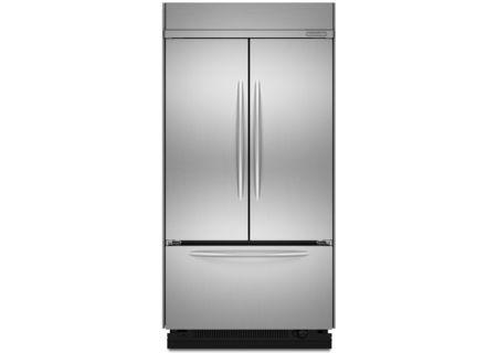 KitchenAid - KBFC42FTS - Built-In Bottom Freezer Refrigerators