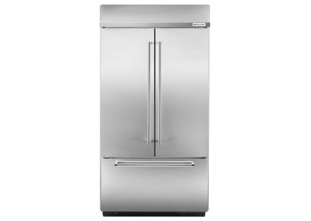 KitchenAid Built-In Stainless French Door Refrigerator - KBFN402ESS