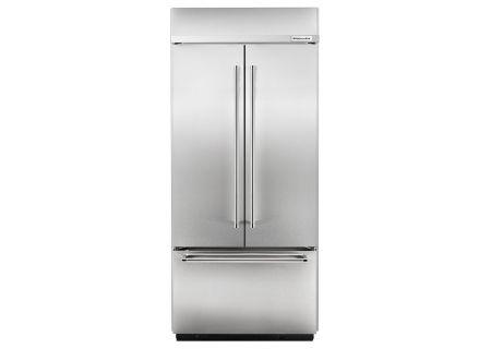 KitchenAid - KBFN406ESS - Built-In French Door Refrigerators
