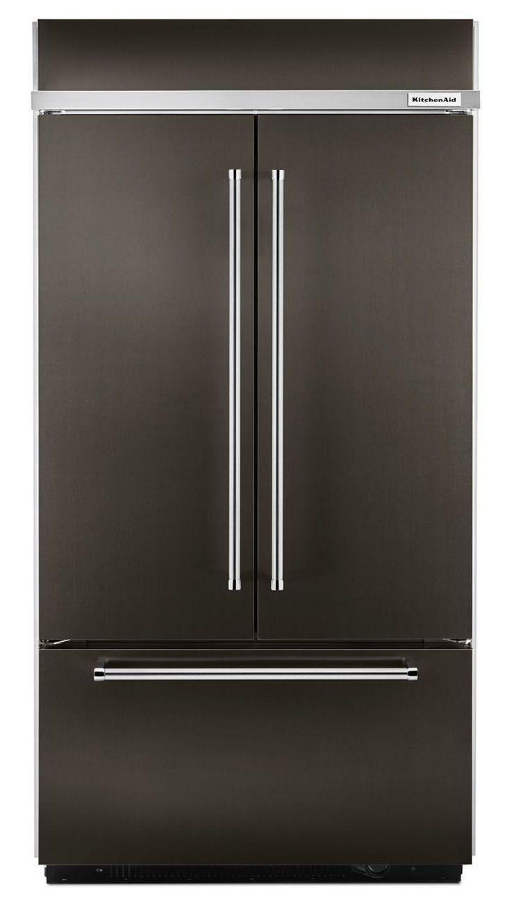 Kitchenaid 42 French Door Refrigerator Kbfn502ebs