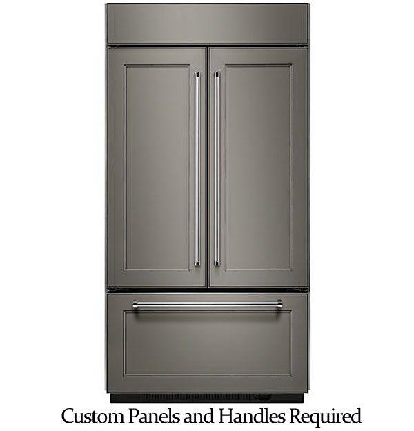 Kitchenaid 42 Built In French Refrigerator Kbfn502epa