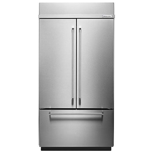 Kitchenaid Built In French Door Refrigerator Kbfn502ess